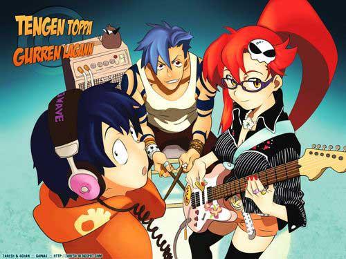 gurren lagann anime dizi öneri